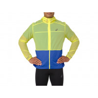 Bunda Asics PACKABLE JACKET 2011A045 - 750 LEMON SPARK/ILLUSION BLUE