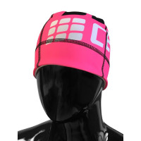 Bežecká čiapka CEP Ružová Fluo/Čierna