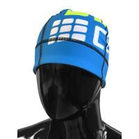 Bežecká čiapka CEP Elektrická modrá/Zelená fluo