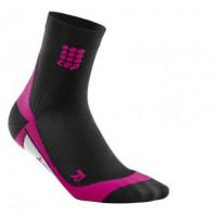 Ponožky krátke CEP W Compression 404977202-W1 Black/pink