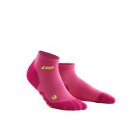 Ponožky členkové CEP W Compression 405152691-W ElectricPinkGreen