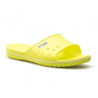 šlapky CROCS crocband II slide 204108-38L Tennis ball green/white