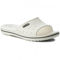 šlapky CROCS crocband II slide 204108-103 White/black