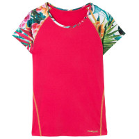 dámske tričko Desigual 18SOTK10-3159 Raspberry Bis