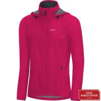 Bunda GORE W R7 WS Light Hooded 100237-1300 Jazzy pink