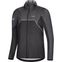 GORE® R7 Women's Partial GORE-TEX INFINIUM™ Hooded Jacket black/terra grey