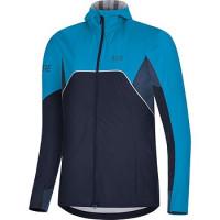 GORE® R7 Women's Partial GORE-TEX INFINIUM™ Hooded Jacket orbit blue/dynamic cyan