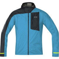 Bunda GORE M R7 WS Light Hooded 100105-0N99 Dynamic cyan/Black