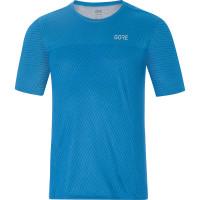 Tričko GORE M R3 Optiline Shirt 100179-0W00 Dynamic cyan melange