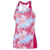dámsky top GORE Sunlight Lady Print Top ITPSUN0113 White Jazzy Pink