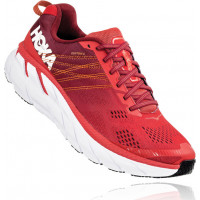 HOKA one one Clifton 6 1102872-PRRR Poppy Red/Rio Red