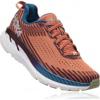 HOKA one one Clifton 5 1093756-EWFG Emberglow/Fig