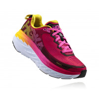 HOKA W Bondi 5 Virtual Pink/Blazing Yellow