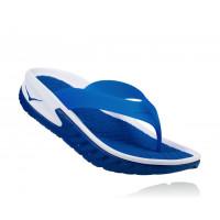 HOKA M ORA Recovery Flip 1018352-WTRB White/True Blue