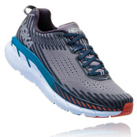 HOKA one one Clifton 5 WIDE 1093757-FGEB FrostGrayEbony