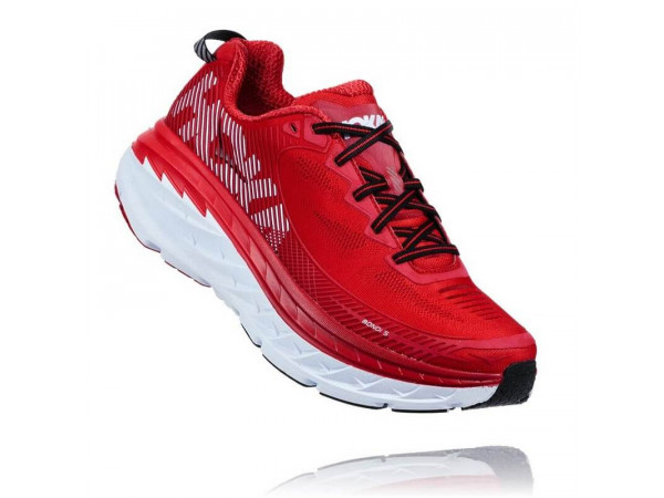 obuv HOKA M Bondi 5 1014757-HRRHR High risk red/Haute Red