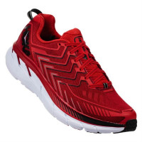 HOKA M Clifton 4 Haute Red/High risk Red