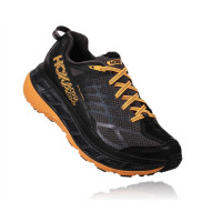 HOKA M Stinson ATR 4 Black/Kumquat