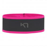 KARI TRAA Siri Headband Čelenka Pink