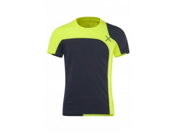 pánske tričko Montura Outdoor MTGN52X-8170 Neon/Black