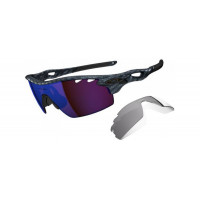 Oakley RADARLOCK Pitch Vented OO9182-0138 Carbon Fiber G30 Iridium/Slate Iridium
