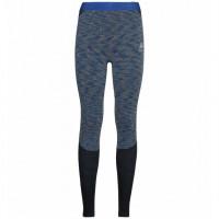 Odlo Women's BLACKCOMB Base Layer Pants 196141-20769 Blue Tattoo, Space Dye