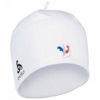 Odlo POLYKNIT FAN WARM Hat 772120-FFW01 France Fan White