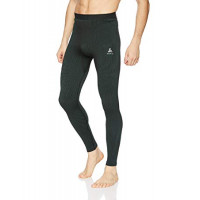 Men's ODLO FUTURESKIN Base Layer Pants Stormy Weather/Black