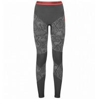Termo spodky ODLO W Blackcomb 170971-60103 Black/Odlo Concrete Grey/Hot Coral