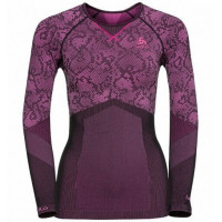 dámske tričko ODLO Blackcomb 170981-60096 black - pink glo