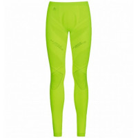 Muscle Force EVOLUTION WARM baselayer pants Safety yellow/platinum grey