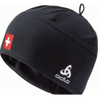 Odlo POLYKNIT FAN WARM Hat 772120-CHFBL Swissski Black