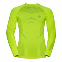 set ODLO EVOLUTION WARM Muscle Neon