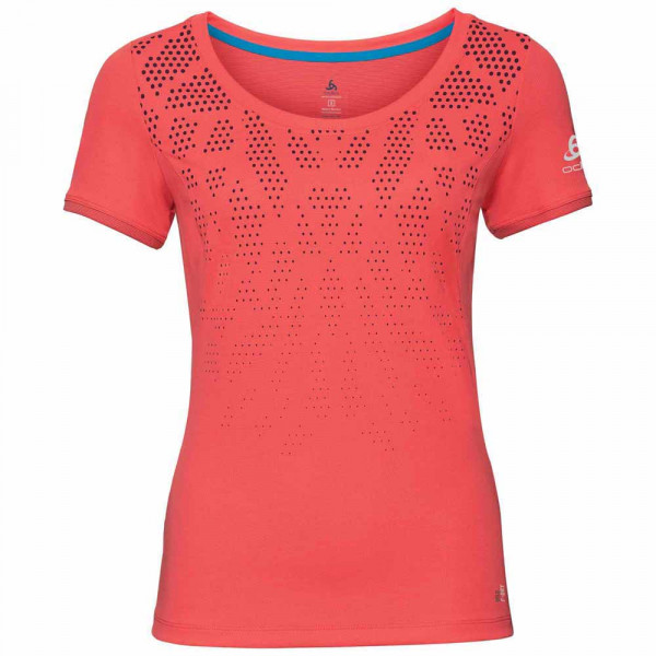 016ed7a4db tričko ODLO W TOP CREW NECK 550131-30367 KUMANO F-DRY PRINT ...