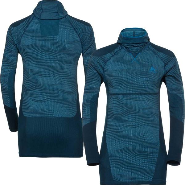 63589f855 tričko termo Odlo M Performance 187092-20508 blue | RUNNING STORE