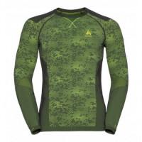 pánske tričko ODLO Blackcomb 170982-10564 graphite grey/safety yellow