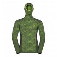 pánske tričko ODLO Blackcomb Facemask 170992-10564 graphite grey/safety yellow