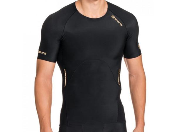 pánske tričko SKINS A400 SS ZB99320049001 Black