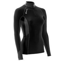 dámske tričko Skins S400 B65060025 Black Veľkosť: M