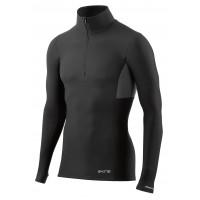 pánske tričko Skins M DNAmic Thermal zip DT00010750050 Black/Charcoal