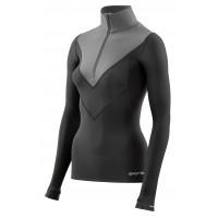 dámske tričko Skins W DNAmic DT40000750050 Black/Charcoal