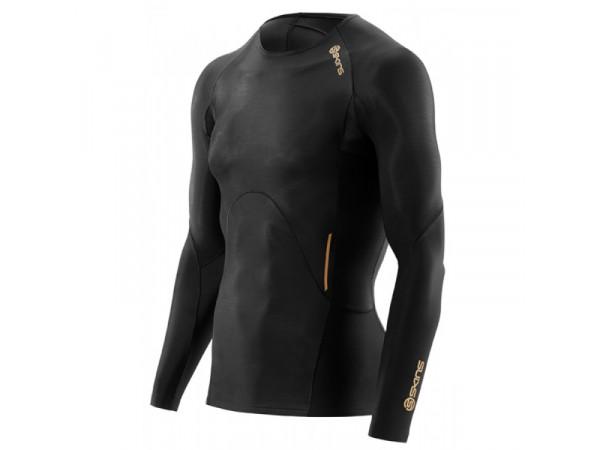 pánske tričko Skins A400 ZB99320059001 Black