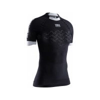 X-BIONIC® TRICK 4.0 RUN SHIRT SH SL WOMEN TRICK OPAL BLACK/ARCTIC WHITE