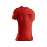 X-BIONIC® INVENT® 4.0 RUN SHIRT WOMEN SUNSET ORANGE/NEON FLAMINGO