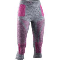 X-BIONIC® ENERGY ACCUMULATOR 4.0 Melange Pants 3/4 Women Grey Melange / Pink