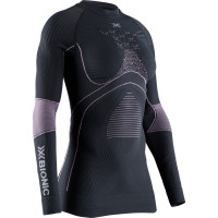 X-BIONIC® ENERGY ACCUMULATOR 4.0 Shirt Round Neck LG SL Women Charcoal / Magnolia