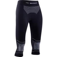 X-BIONIC® ENERGIZER 4.0 Pants 3/4 Women Opal Black / Arctic White