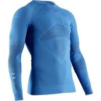 X-BIONIC® ENERGIZER 4.0 Shirt Round Neck LG SL Men Teal Blue / Anthracite