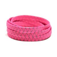 XPand Elastic Reflexné šnúrky do tenisiek Ružová