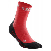 Winter Short Socks Red/Black